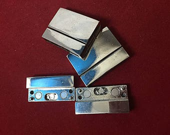 10 pcs Silver   Magnetic clasp