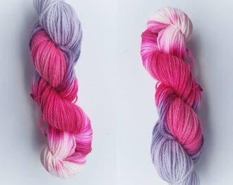 Cherry lane - 100g BFL Wool - Dk - Hand Dyed Yarn