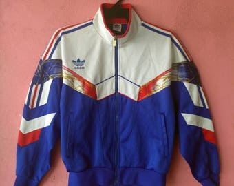 Adidas 90s zip on sweater tribute to france colour size L