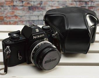 Vintage Nikon EM 35mm SLR film camera