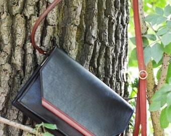 Handmade leather bag-handmade handbag in leather