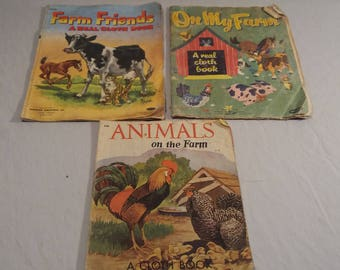 1950s Cloth Books: Lot of 3