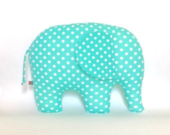 Elephant cushion Elephant Pillow Taufegeschenk Ornamental kid's room birth special gift