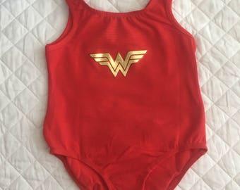 Wonder Woman leotard - toddler