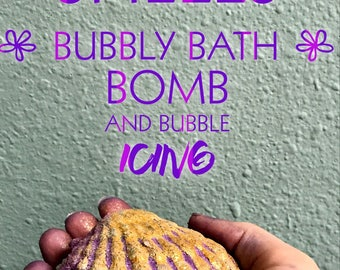 She Sells Sea Shells Bubbly Bath bombs