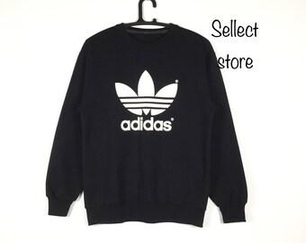 Free Shipping Vintage 90s ADIDAS Sweatshirt