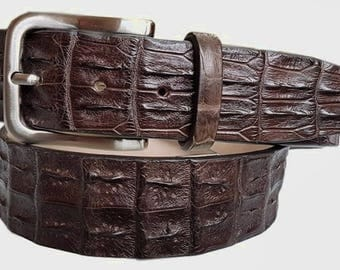 Reptile's back belt height 4 cm unisex