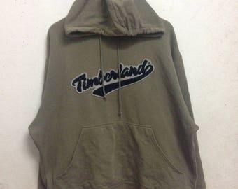 Vintage 90's Timberland Hoodies Sweatshirts Size L