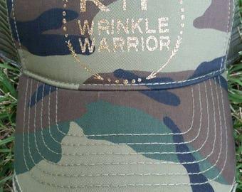 R+F Wrinkle Warrior Camo Hat