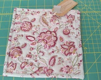 Ready to ship Floral Quilted Potholder
