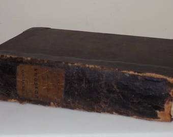 A Treatise on Poisons, 1832, Very Rare Antique Reference Work