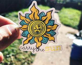 Carry the Sun Sticker
