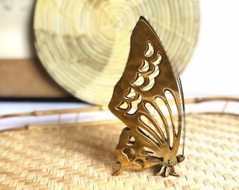Vintage Brass Butterfly