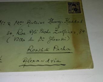 A vintage letter 1947