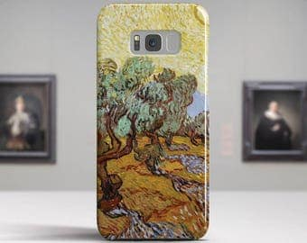 """Vincent van Gogh, """"Olive Trees"""". Samsung Galaxy S6 Case LG G5 case Huawei P9 Case Galaxy A5 2017 Case and more. Art phone cases."""