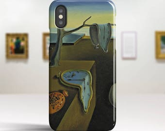 "Salvador Dali, ""The Persistence of Memory"". iPhone X Case Art iPhone 8 Case iPhone 7 Plus Case and more. iPhone X TOUGH cases."