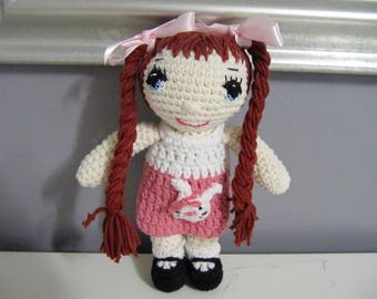 crochet doll Coraline
