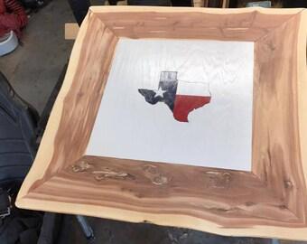 Red Cedar End Table - 24 x 24