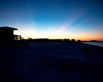 Sunrise over Siesta Key Beach