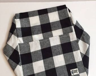 CDR Buoy - Black & White Flannel