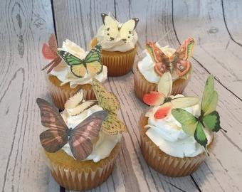 Warm Woodland Mix Edible Butterflies -13