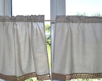 Cafe Curtains | Etsy