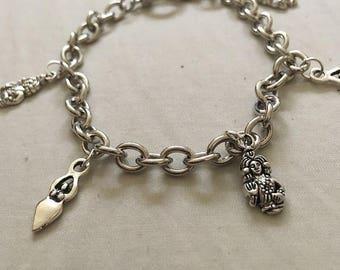 Goddess Charm Bracelet | Three Designs