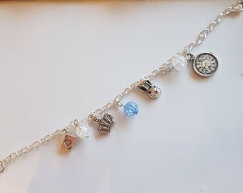 Alice in Wonderland Themed Bracelet