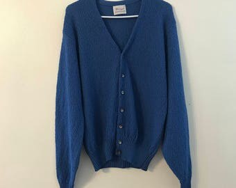 Vintage Donegal Colesta Scramble Cardigan Sweater M