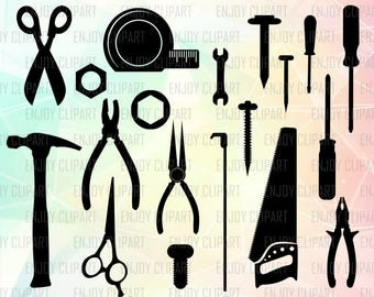 Wrench Svg, Mechanic Svg, Tools Svg, Power Tools, Hammer Svg, Hand Saw, Handyman, Svg File For Cricut, Svg Cuts, Cuttable Files, Svg Designs