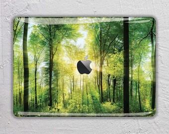 Forest macbook skin nature macbook decal landscape macbook sticker rain forest macbook cover apple macbook pro skin macbook air 11 12 FSM202
