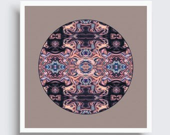 PERSIAN RUMBLE | Tribal Art Print
