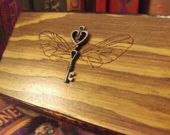 Harry Potter Inspired Winged Key keepsake box