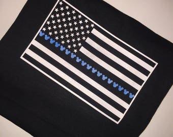 Disney Thin Blue Line Shirt / Back The Blue / Police Lives Matter
