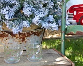 Vintage Christmas Mugs - Vintage Christmas Coffee Mug - Christmas Mugs - Christmas Coffee Mug - Holly Christmas Mug - Happy Holidays Mug