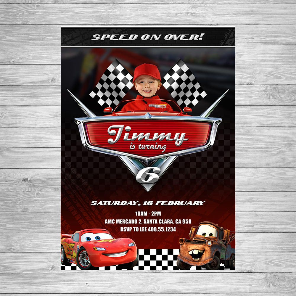 Disney Cars Birthday Food Labels Disney Cars Food Tent Cards – Disney Cars Birthday Cards
