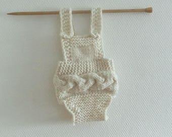 Knit romper photo prop romper Baby knitted romper Knit Newborn Romper Newborn Girl Prop boy grey romper Knit Baby Onesie Newborn photo prop