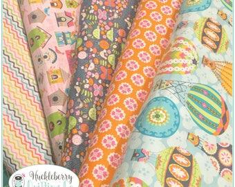 Flutter & Float, Yardage Bundle, Ana Davis, Blend Fabrics, , Quilting Fabric, Cotton Fabric, Yardage