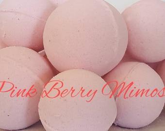 Pink Berry Mimosa Bath Bombs