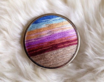 Beach Sunset Pin