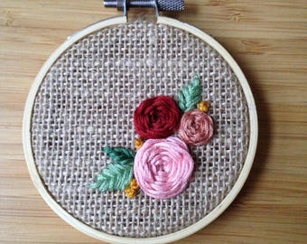 Little Burlap Rose