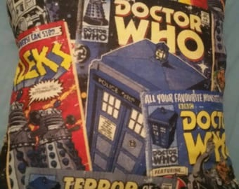 Doctor Who Cushion