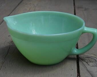 Vintage Fire-King Jadeite Mixing Bowl