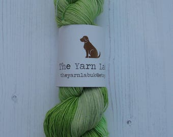 "4 ply "" Xander "" hand dyed sock yarn inspired by Buffy The Vampire Slayer."