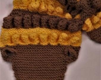 child scarf, wool scarf, scarf, crocodile, warm scarf, knitted, scarf, winter scarf wool scarf, scarf
