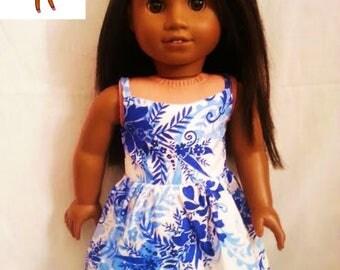 Dress for 18 inch dolls such as American Girl Dolls & My Life As Dolls