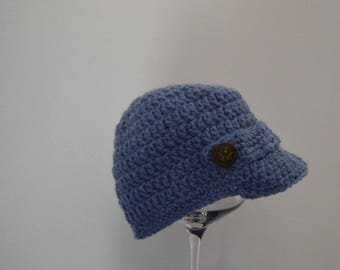 Beanie hat in crochet