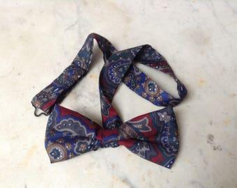 Vintage Paisley Bow Tie