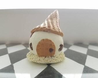 Chocolate Chip Ice Cream Fairy House
