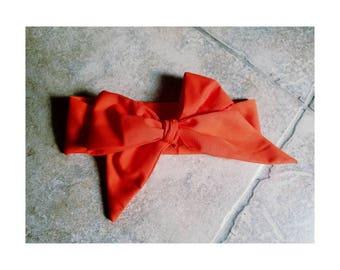Orange Hair Wrap
